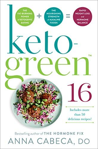 Keto-Green 16 Book Review by ReInventing50s
